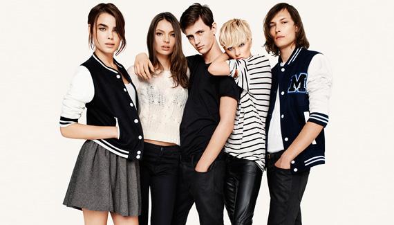 H&M Fall 2011 Ad Campaign ft. Anja, Freja & Bambi