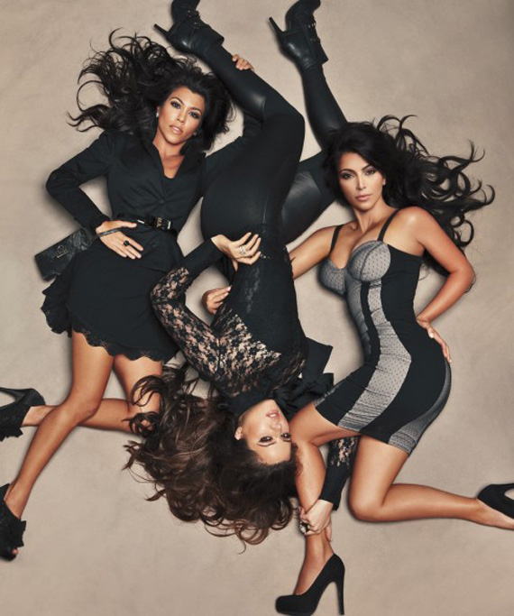 Kardashian Kollection for Sears Campaign Shot by Annie Leibovitz
