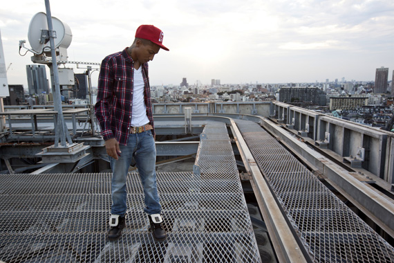 Pharrell + Palladium Presents Tokyo Rising Campaign
