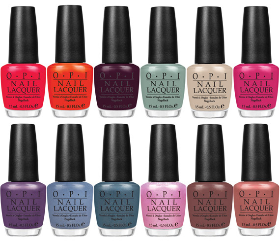 OPI Spring 2012 Holland Inspired Collection