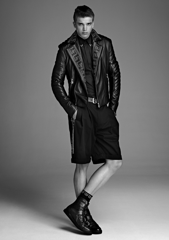Versace for H&M Mens Lookbook