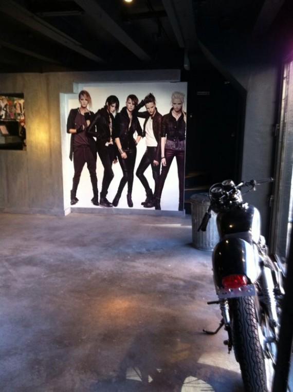 H&M Girl With The Dragon Tattoo Pop Up Shop   Sneak Peek!