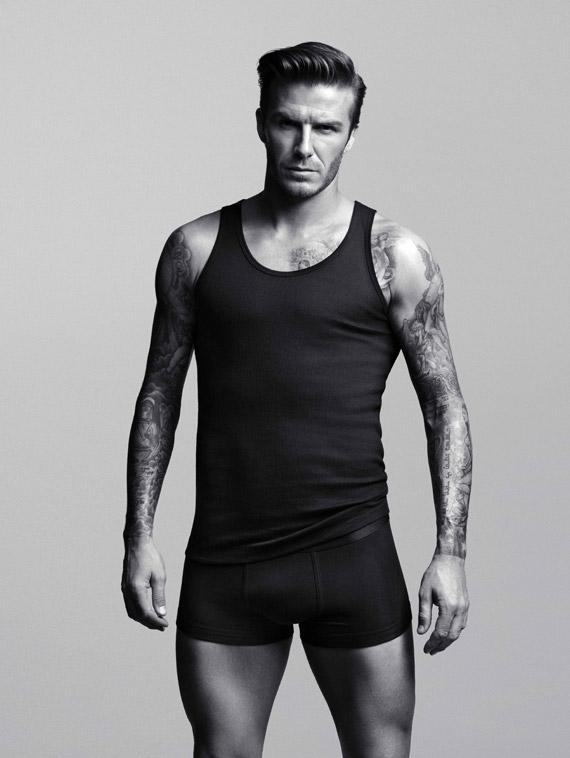 David Beckham for H&M Ad Campaign