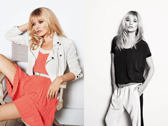 Kate Moss for MANGO Spring/Summer 2012 Ad Campaign