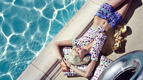 Versace for H&M Cruise 2012 Ad Campaign
