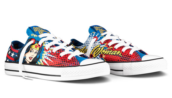 DC Comics x Converse Chuck Taylor All Star – Killer Croc + Wonder Woman