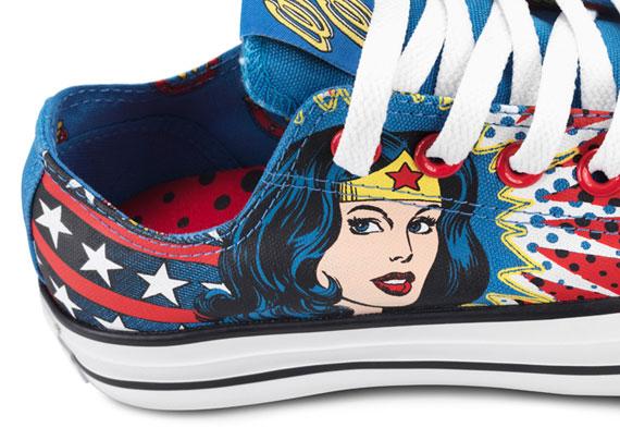 DC Comics x Converse Chuck Taylor All Star – Killer Croc + Wonder Woman
