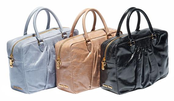Miu Miu Spring/Summer 2012 Plongé Bags