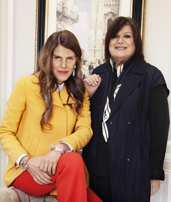 Anna Dello Russo at H&M Accessories Collection