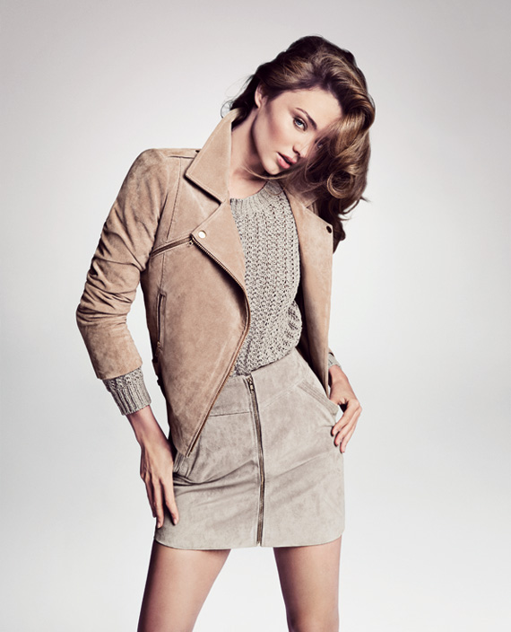 Miranda Kerr for MANGO Spring/Summer 2013 Campaign Photos