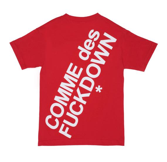 COMME des FUCKDOWN for CLOT