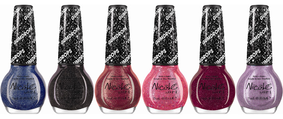 Nicole by OPI Limited Edition Gumdrops Nail Lacquers