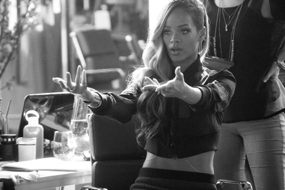 Rihanna x Budweiser Commercial Dreams are Made BTS