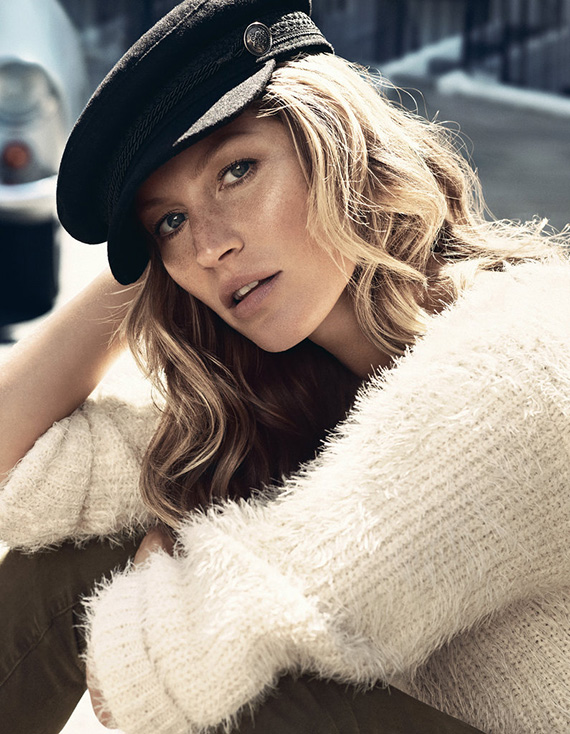 Gisele Bündchen for H&M Fall 2013 Ad Campaign