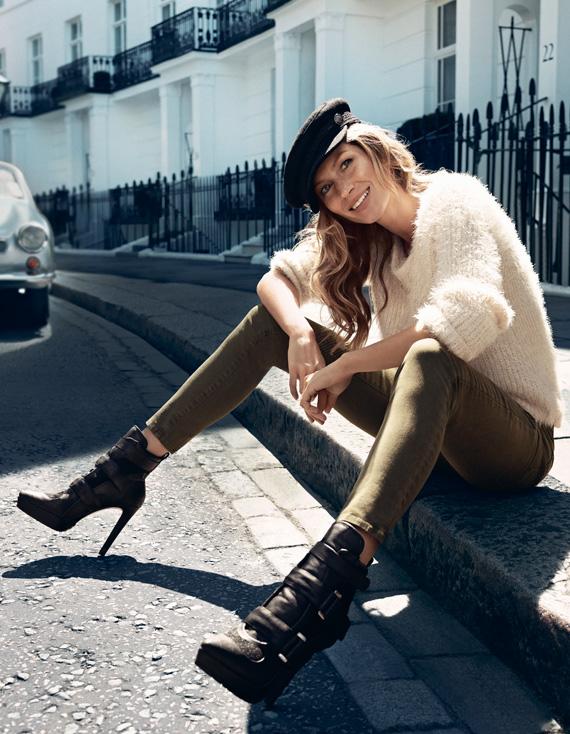 Gisele Bündchen for H&M Fall 2013 Campaign + BTS Video