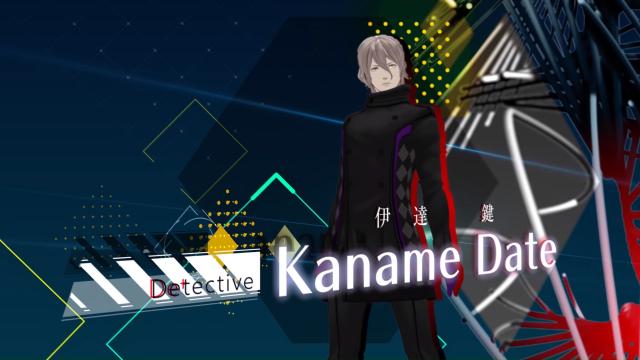 Detective Kaname Date AI The Somnium Files game protagonist