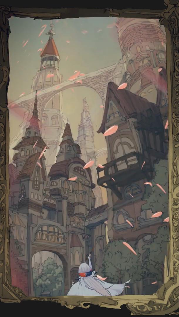Warau Ars Notoria Background Art featuring Art by Waboku
