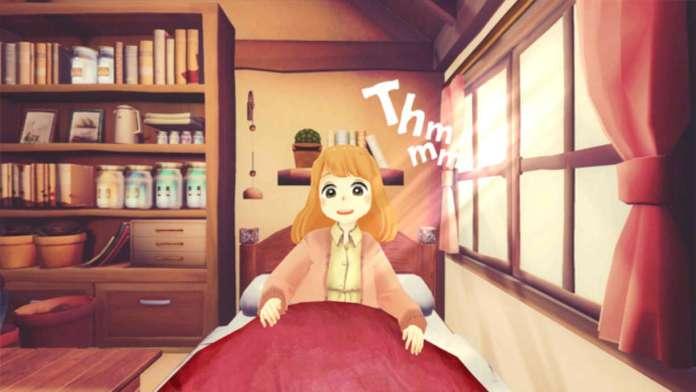FullDive Manga Miki in bed