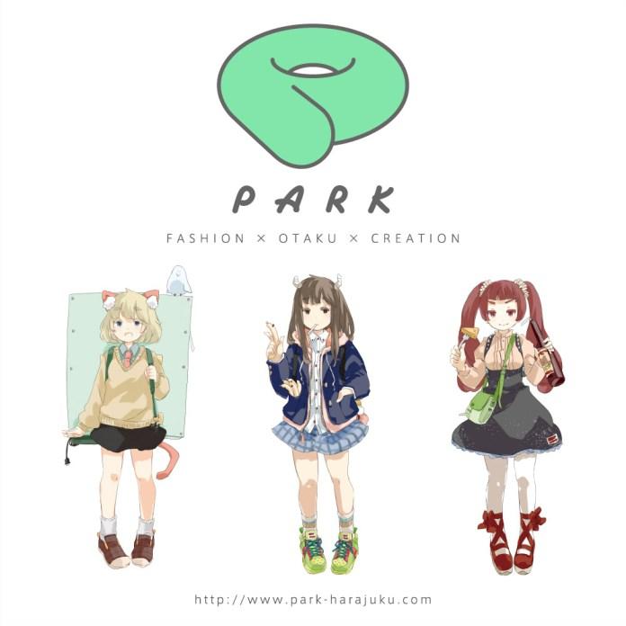 PARK Harajuku logo featuring PARK Harajuku Crisis Team