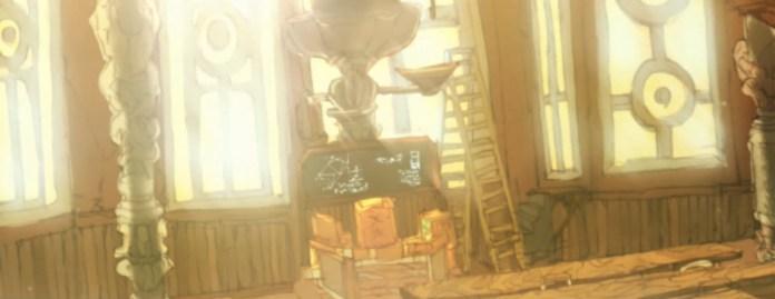 Warau Ars Notoria trailer screenshot of a room