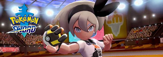 Pokemon Sword and Shield Bea the Fighting Gym Leader