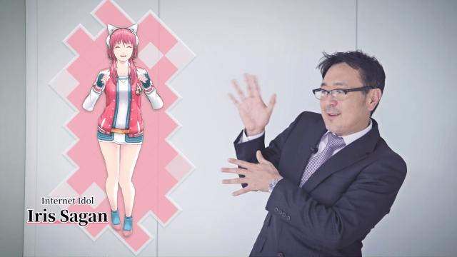 Spike Chunsoft and Too Kyo Games video game developer Kotaro Uchikoshi and Iris Sagan.