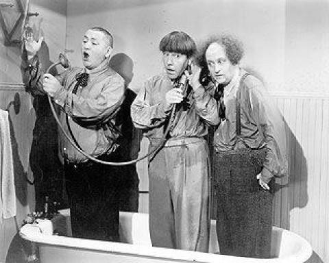Curley Joe, Moe, and Larry