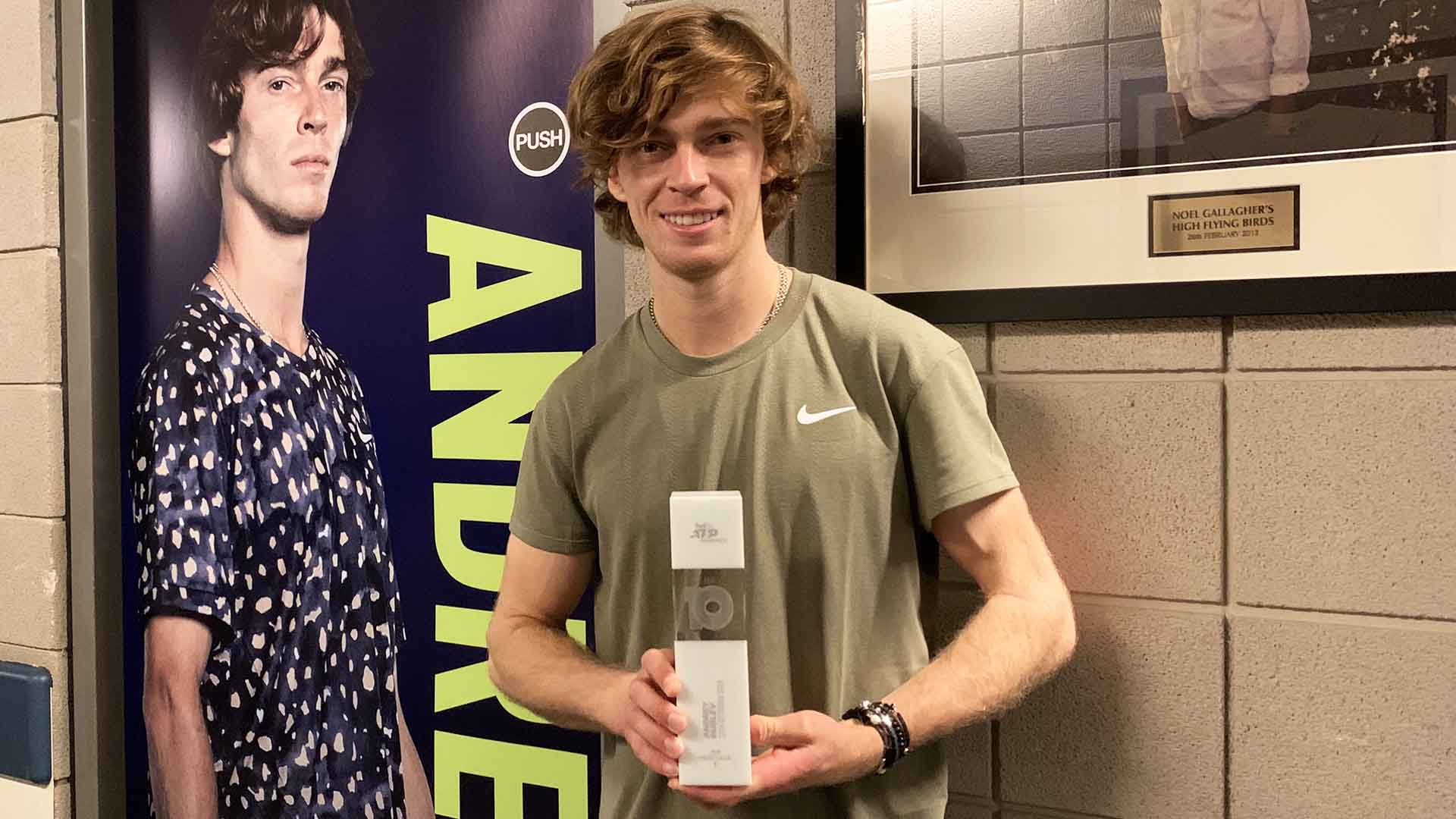 Andrey Rublev looks ahead to the 2021 ATP Tour season after finishing his debut appearance at the Nitto ATP Finals with a round-robin win against ...
