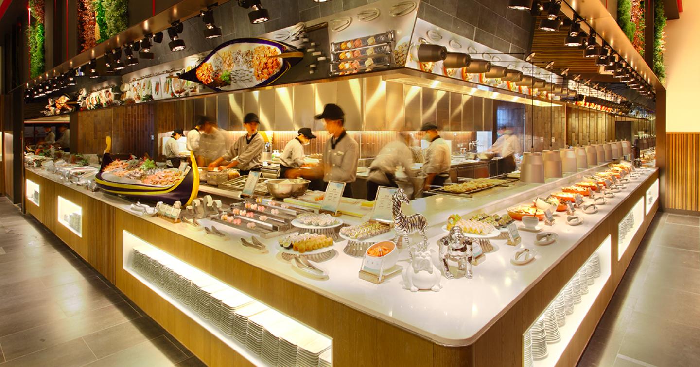 「饗食天堂」五星級6.0大改裝!200道中西日式料理任你吃,還有七層巧克力噴泉機 | Chill Go輕鬆購集點趣 ...