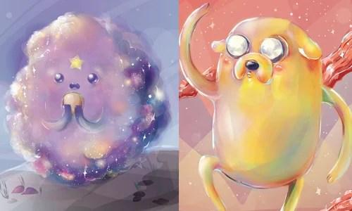 想要一個腫泡泡公主項鍊!像硬糖般亮晶晶的《探險活寶》插畫 | 探險活寶,Amanda Pherson,star.manda.art,電繪 ...