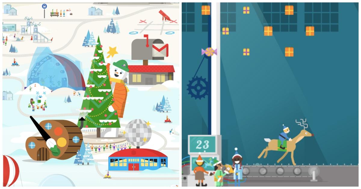 在家也能玩刺激雪球大戰!「Google聖誕老人村」用多款趣味遊戲陪你迎接聖誕節 | Google,聖誕節 ...