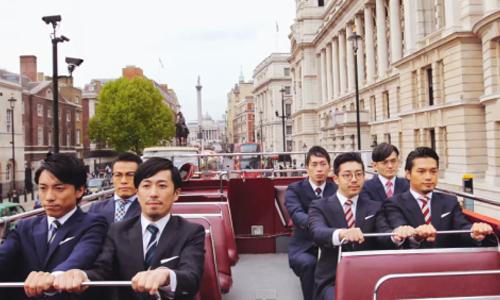 西裝大叔舞拚英國!日本團體WORLD ORDER的超酷機器舞   WORLD ORDER、日本、舞蹈、音樂、mv   名人娛樂   妞新聞 niusnews