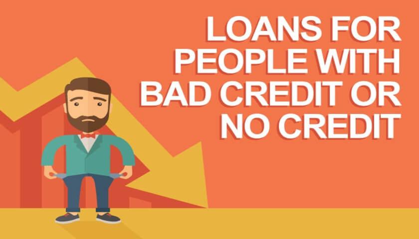 personal loan with bad credit or no credit check