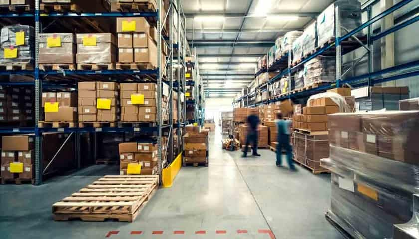 Warehouse for e-commerce business