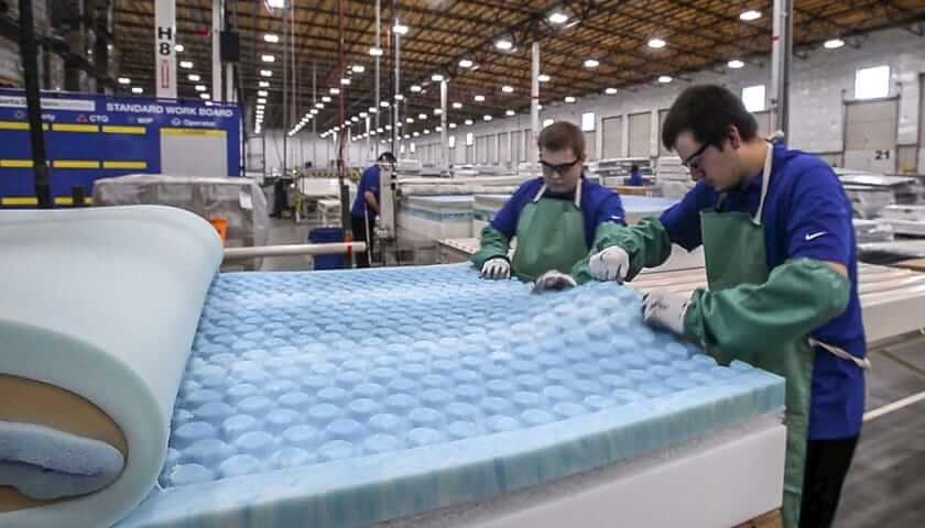 form mattress production