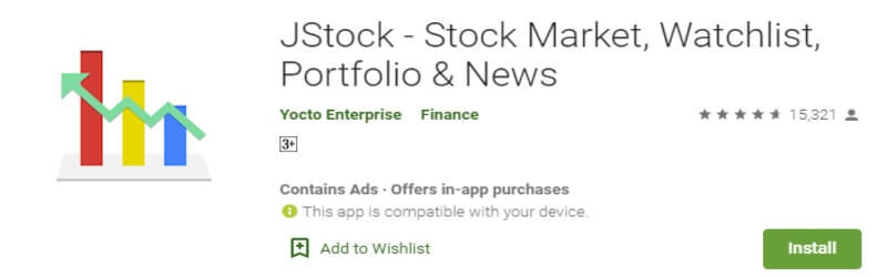 jstock android trading app