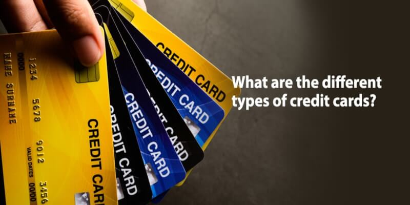 types of credit cards in india