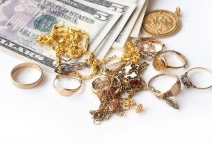 sold out old broken jewelry for cash to invest
