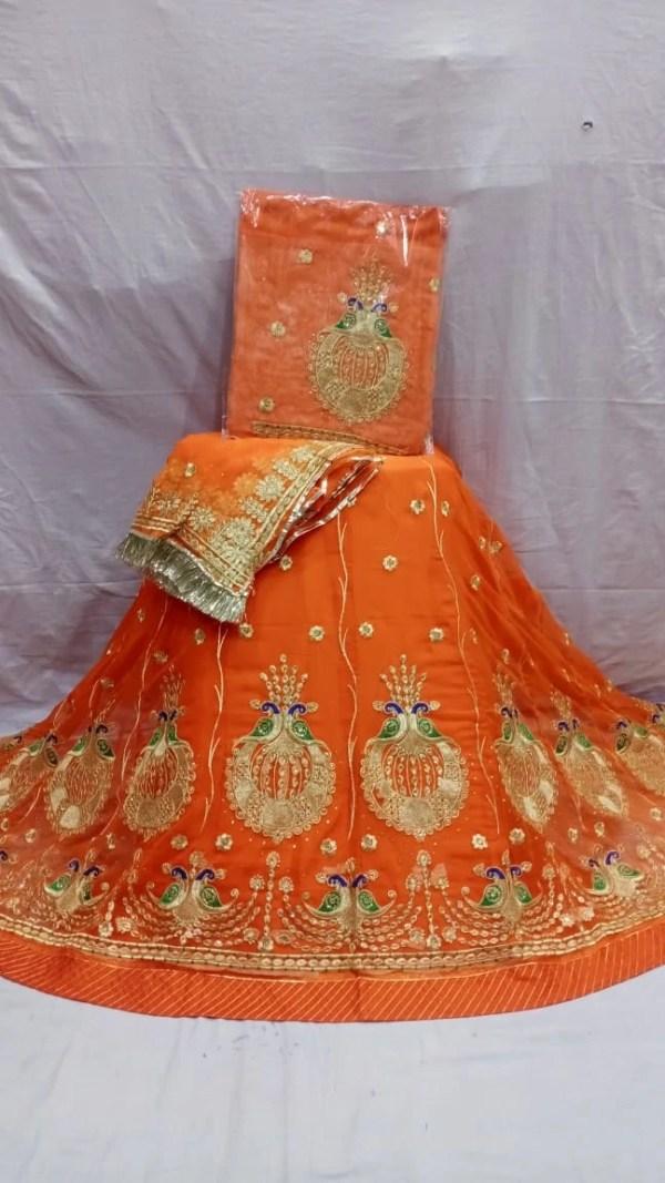 Fancy Half Pure Rajputi Poshak