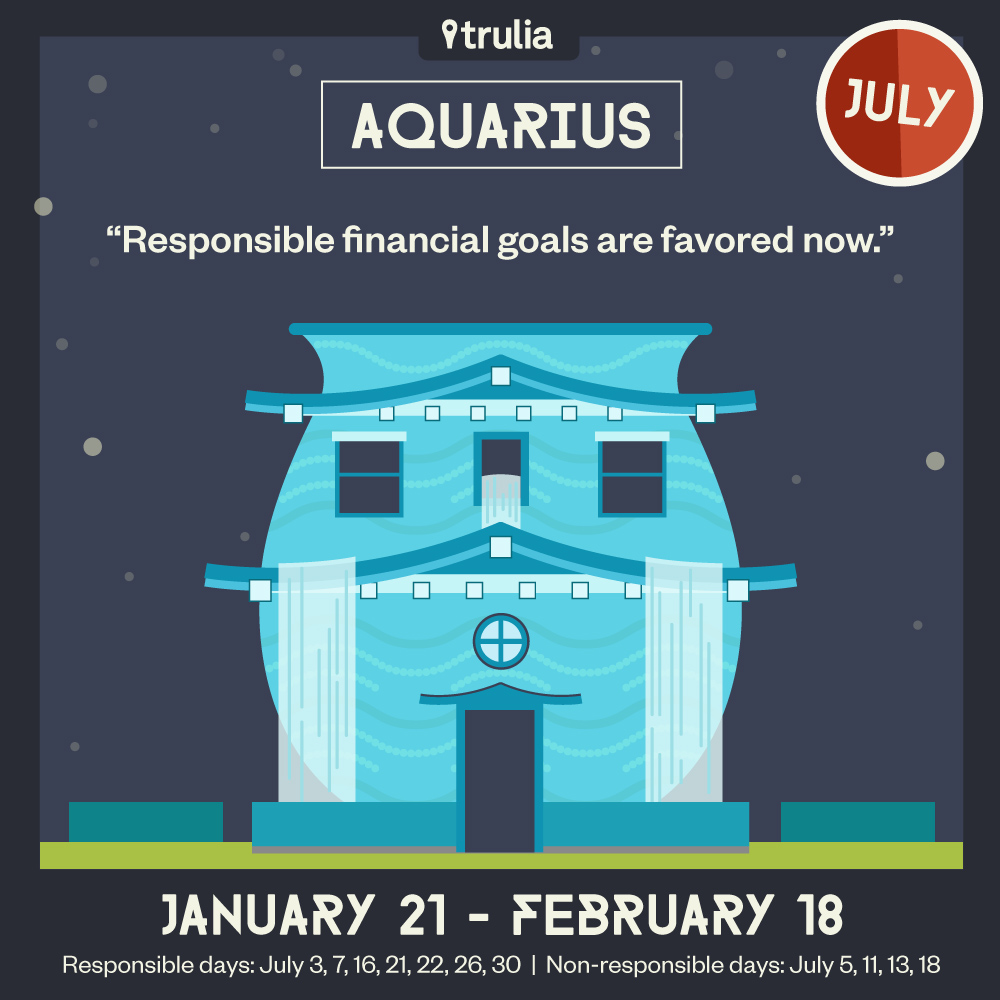 Aquarius Horoscope Trulia