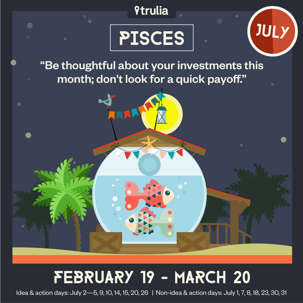 Pisces Horoscope Trulia