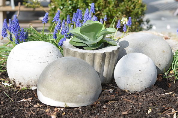 Concrete Garden Orbs via Charlotte @Ciburbanity