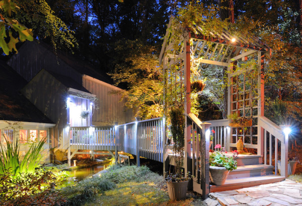 Gazebo Garden Lights