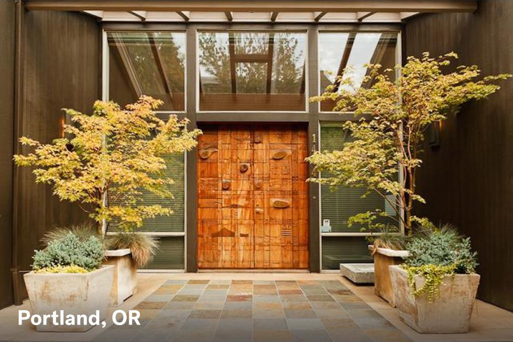 Wood Door Portland
