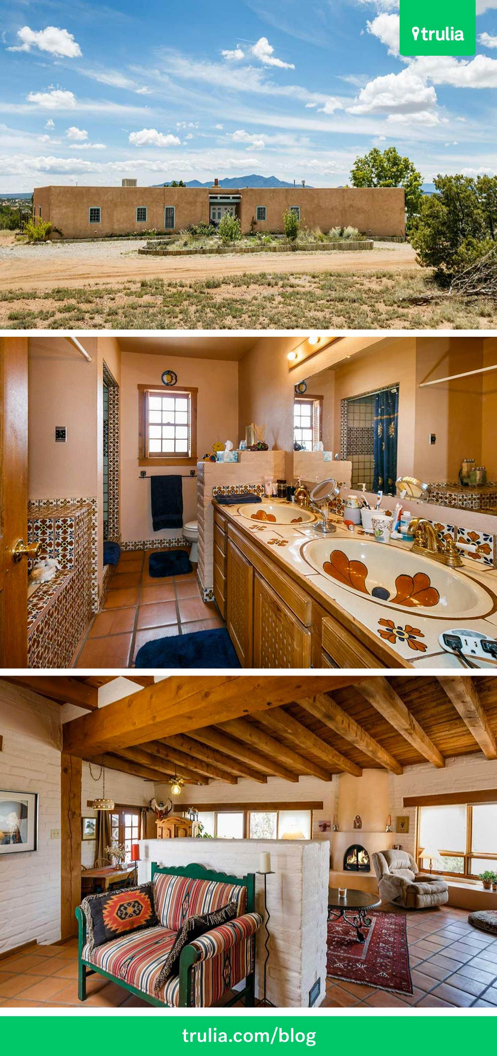 Santa Fe Home on Pinterest