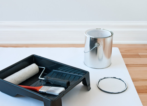 Baseboard Paint Supplies