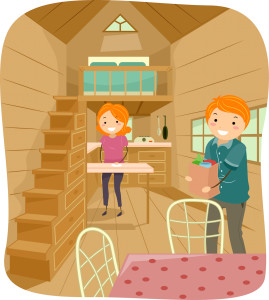 Couple In Tiny Home