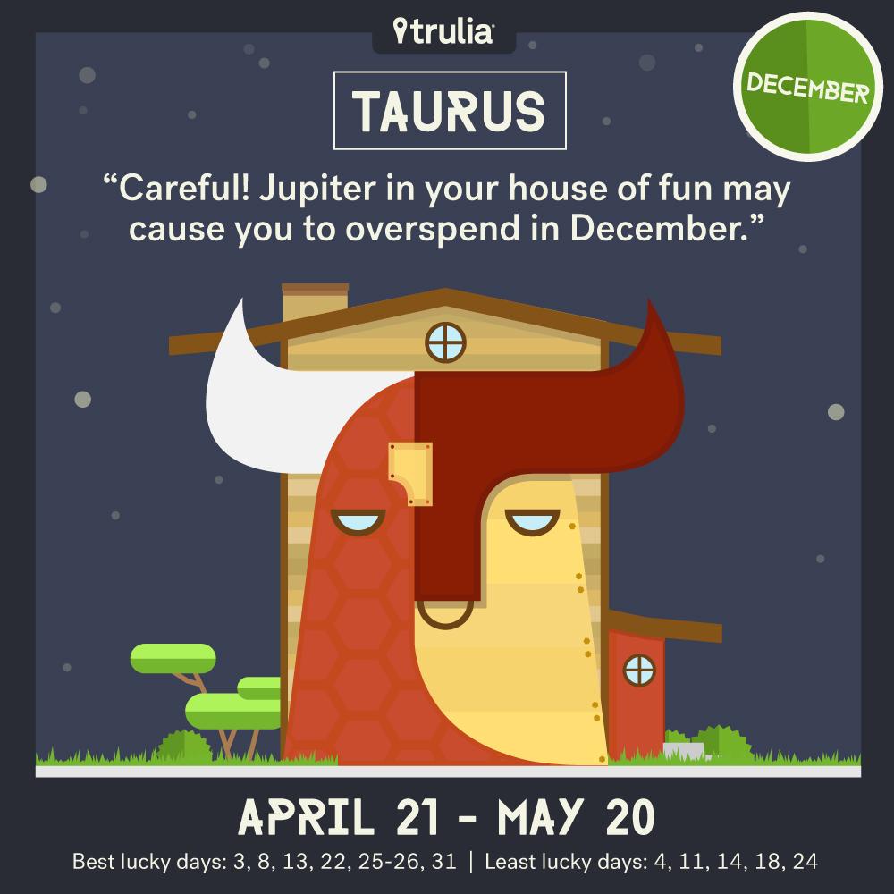 December money horoscope Taurus