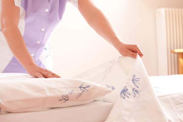 Changing Bed Linens