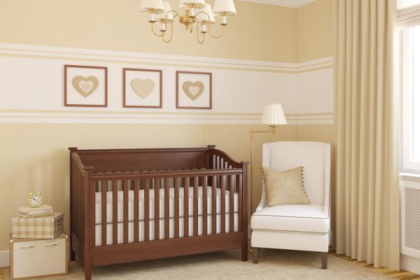 Tan Baby Room